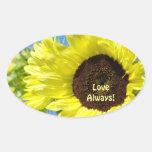 Love Always! stickers Bright Yellow Sunflowers