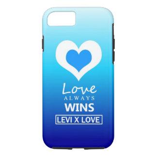 """Love Always Wins"" - LEVI X LOVE iPhone 8/7 Case"