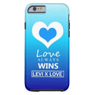 """Love Always Wins"" - LEVI X LOVE Tough iPhone 6 Case"
