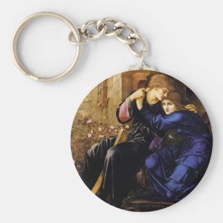 Love among the ruins Pre-Raphaelite Art Key Ring