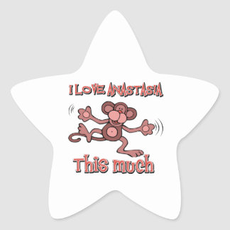 Love Anastasia Star Sticker