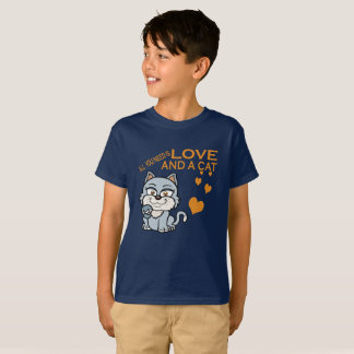 LOVE AND A CAT T-Shirt