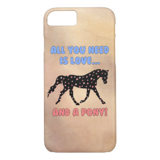 Love and a Pony iPhone 7 Case