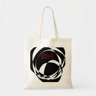 Love and a Strong Heart Canvas Bags