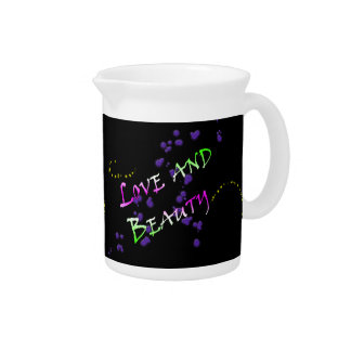 Love and Beauty Drink Pitcher