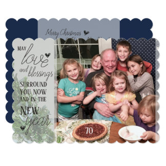 Love and Blessings - Christmas Card