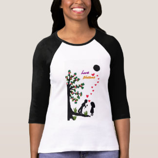 love and blossoms t shirts
