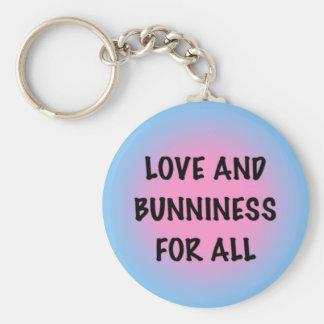 Love and Bunniness Key Chain
