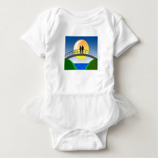 love and couples baby bodysuit