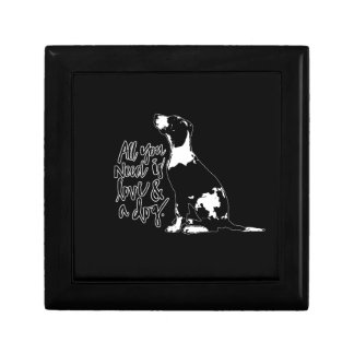 Love and Dog Gift Box