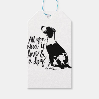 Love and Dog Gift Tags