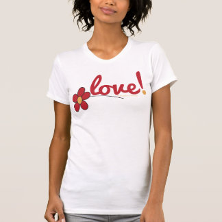 Love and Flower Ladies Spaghetti Top