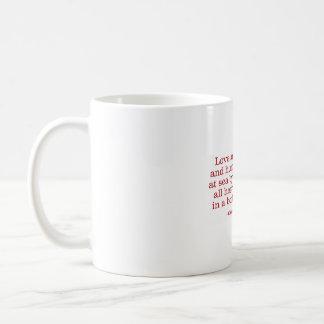Love and Friendship and Humour and Ships at Sea Basic White Mug