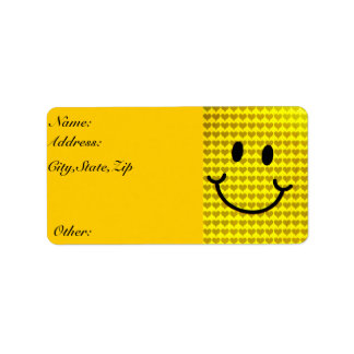 Love and Happiness_ Address Label