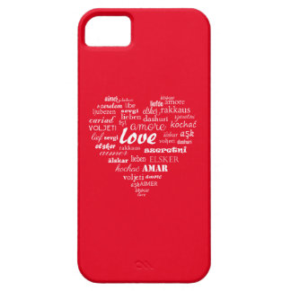 Love and heart in all language of world iPhone 5 cases