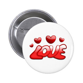 Love and Hearts Pins