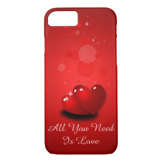 Love and hearts iPhone 7 case