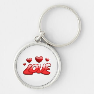 Love and Hearts Keychains
