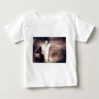 love and Hope Siberian husky Baby T-Shirt