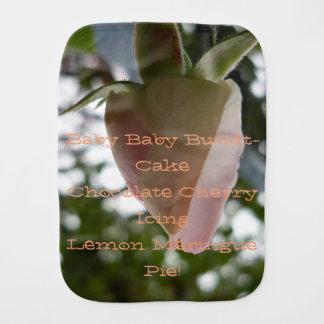 love and joy baby rosebud poem Receiving Blanket