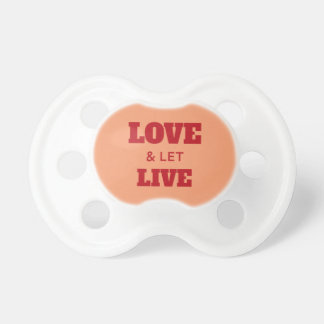 Love And Let Live Dummy