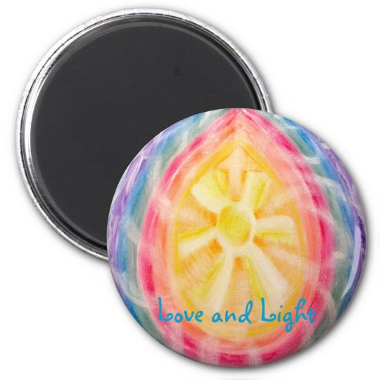 Love and Light chakra magnet 2