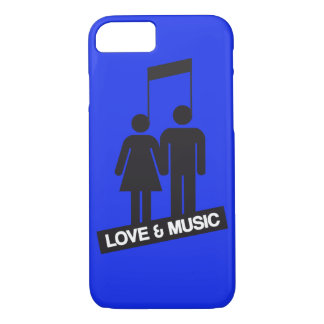 Love and music iPhone 7 case