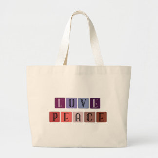 Love and Peace Gifts Canvas Bag