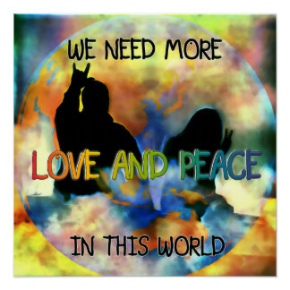 Love and Peace Poster