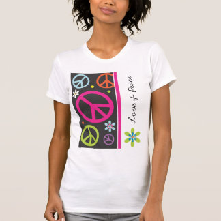 Love and Peace Sign T-Shirt