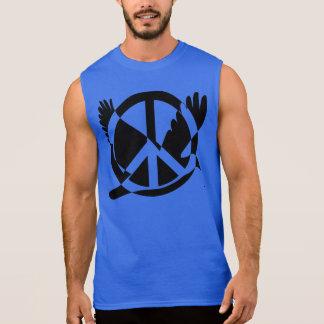 Love And Peace Sleeveless Shirt