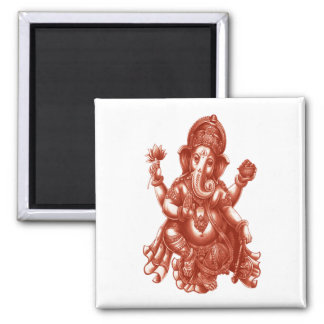 LOVE AND PROSPERITY SQUARE MAGNET