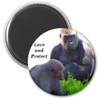 Love and Protect_ Magnets