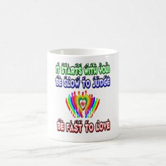 Love and Respect Coffee Mug
