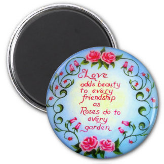 Love and Roses Magnet