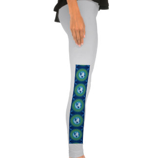 Love and save mother earth, green healthy earth leggings