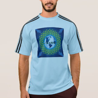 Love and save mother earth, green healthy earth tshirt