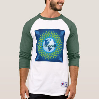 Love and save mother earth, green healthy earth shirt