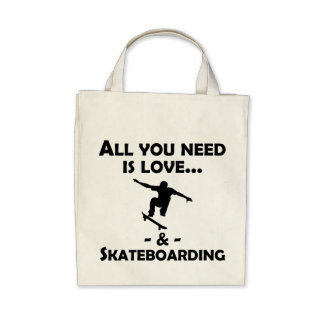 Love And Skateboarding Bags