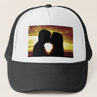 Love and summer trucker hat