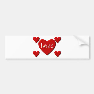 Love and Valentine Day Bumper Stickers