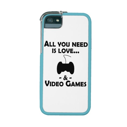 Love And Video Games iPhone 5 Case