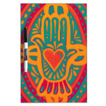 Love and Wealth to You Dry Erase Board
