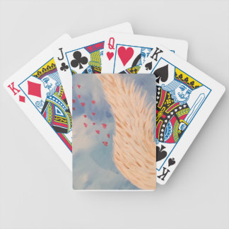 Love Angel Bicycle Playing Cards