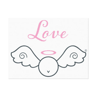Love Angel Canvas Print