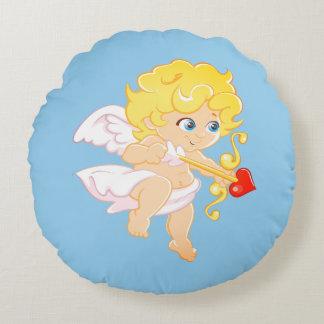 Love Angel Round Cushion