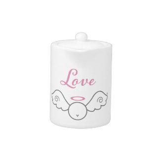 Love Angel Teapot
