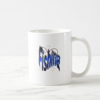 love angling coffee mug