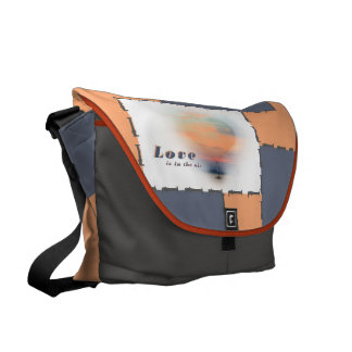 love are in the air commuter bag