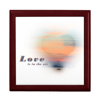 love are in the air large square gift box